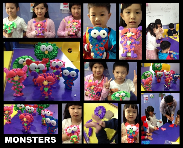 Day 4: Design & Create Christmas Gingerbread Monsters