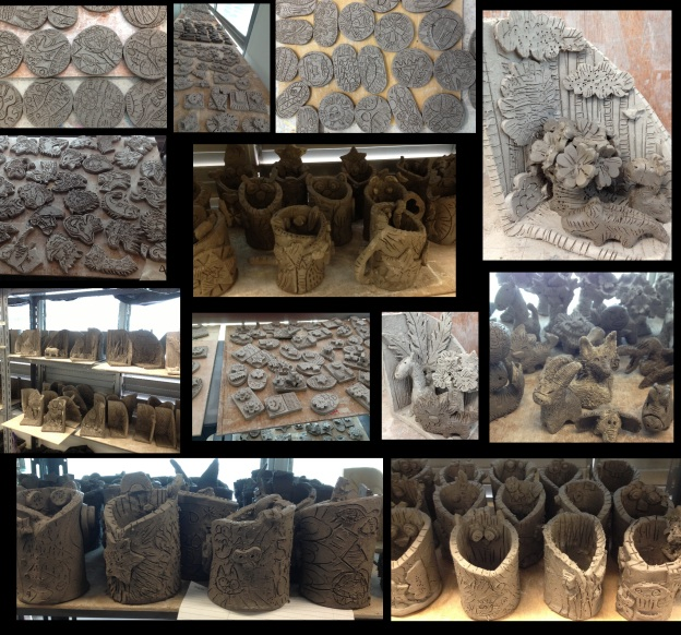 Radin Mas primary school, ceramics program