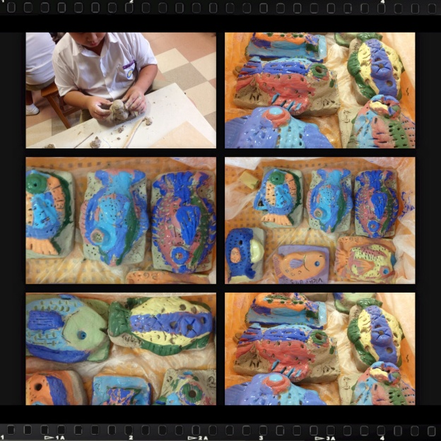Fish themed relief project, yuneng primary