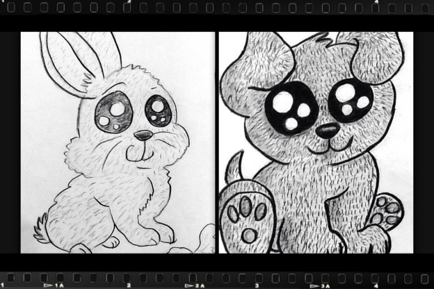 yuneng animal manga drawing