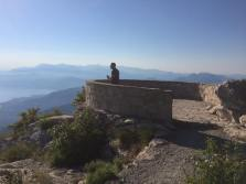 Mount Luvcen, around the king's mausoleum, Montenegro