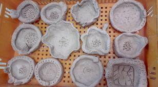 Primary 3 Ceramics: Pinched pot